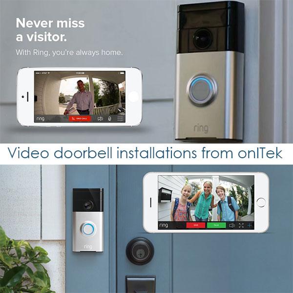 RING doorbell installer